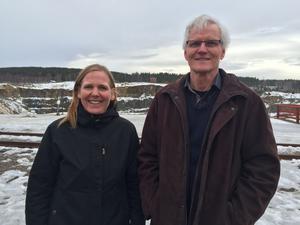 Anna Björkman, verksamhetschef vid Falu Gruva, och Stig-Åke Svensson, ordförande i Dalarnas ornitologiska förening, berättade om ett tvåårigt projket för att uppmärksamman berguvarnas situation - både ur ett nationellt och lokalt perspektiv.