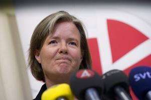 Vid en presskonferens på onsdagskvällen meddelade Carin Jämtin att det är partistyrelsen som ska utse en ny partiordförande. Ett sorgligt besked, enligt Arbetarbladets politiska redaktör Jenny Wennberg.