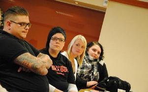 Kommunals ungdomsansvariga anser att deras unga medlemmar främst saknar anställningstrygghet.FOTO: KLARA ERIKSSON