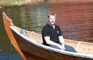 Moras tränare Patric Wener bekantade sig med laget och spelarna för första gången i helgen, med attt bland annat ro kyrkbåt.