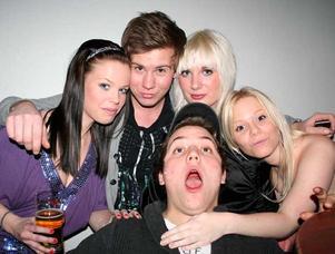 Konrad. Sofie, Kent, Alexandra och Sandra