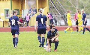 Lagkaptenen Johanna Pettersson toppar interna skytteligan på två gjorda mål, en förklaring till lagets kräftgång. Men kanske är laget på gång efter en viktig bortaseger senast.