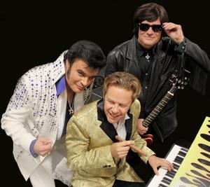 Elvis Presley, Jerry Lee Lewis och Roy Orbison kommer till Dalarna.