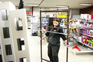 Butikschefen Marianne Björk tror att den nya butiksdelen i varuhuset kommer att bli uppskattad.