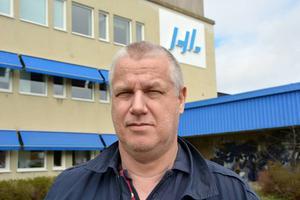 Lars Nordlander, klubbordförande för Unionen på HL Display.