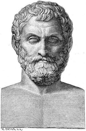 Enligt den grekiske filosofen Thales var allt fattbart för det mänskliga förnuftet och han ville frigöra det från religionen och mytologins dogmer.