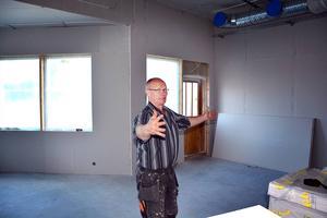 Roger Fjeldseth är projektledare för Framtidens hus i Mellansel.