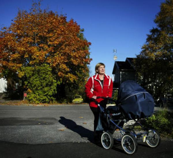 Flåset kom tillbaka med transplantationen. Från att inte ha orkat cykla och simma har Annelie kunnat börja med bland annat Friskis och Svettis, men mest blir det barnvagnspromenader.