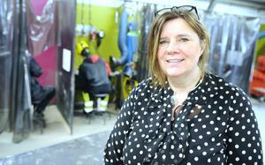 – Samarbetet mellan skola och näringsliv ger mer skräddarsydda utbildningar, säger biträdande rektor Agneta Persson.