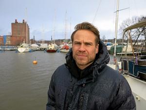 Liv och rörelse. Anders Holmberg har Malmö, Amsterdam och Köpenhamn som föredömen när det gäller bostadsbebyggelse.Foto: Yngve Fredriksson