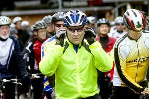 Salig blandning. Veteraner som motionärer trotsade det grådisiga vädret för en dag på cykel.