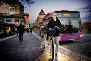 Beatrice Sjövall kördes på av en stadsbuss.