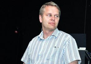 JP Vinds VD Anders Jönsson berättade hur bolaget minskat ner Moskogenprojektet av hänsyn till motstående intressen, inklusive Molanda flygfält och naturvården.