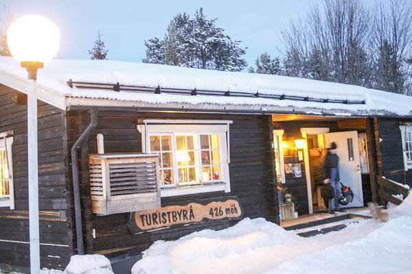 Turisbyrån i Hede, kanske ett framtida naturrum?