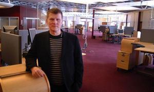 Torbjörn Alander ska ragga uppdrag i Stockholm till projektet  i Hammarstrand. Foto: Ingvar Ericsson