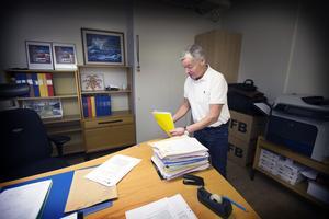 Lars Eriksson, chef för utredningssektionen vid polisområde Västmanland, som efter ett och ett halvt år slutar sin tjänst vid årskiftet för att börja jobba i Stockholm.