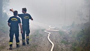 Skogsbranden i Västmanland startade 31 juli 2014. Den 5 augusti ansågs branden vara så omfattande och svårkontrollerad att staten genom länsstyrelsen tog över den kommunala räddningstjänsten. En person omkom, 25 byggnader brann ned och 13 800 hektar skog drabbades.