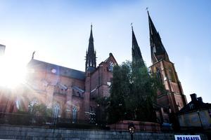 Religion är  en positiv kraft för jämställdhet, skriver Erik Lysén, Svenska kyrkan. Bilden: Domkyrkan i Uppsala