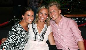 Tabazco. Hanna, Caroline och Erik