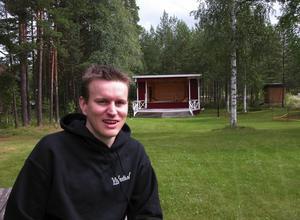 Visfestivalen. - jag ser verkligen fram mot helgens visfestival i Forsgläntan i Malungsfors. Det kommer att bli en storpublik säger visfestivalens