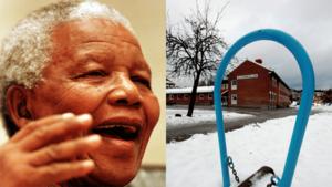 Utbildnings- och fritidsnämnden har fått i uppdrag att ta reda på elevers, föräldrars och personalens syn på att byta ut Alfaskolans namn till Nelson Mandelas skola.