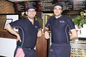 Hadji Miro och Akel Elbess är redo inför den kommande nyårshelgen.