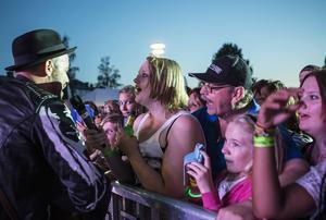 Laxfestivalen 2014, Publiken fick sjunga med.