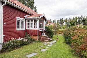 Denna villa på Hedvägen i Vika, Falu kommun, är plats åtta på Klicktoppen för vecka 38.