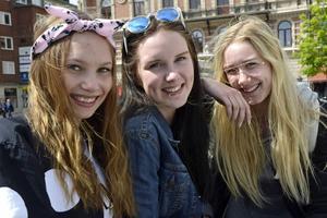 Kompisarna Alma Fröberg, Therese Lundberg och Wilma Bondén ser fram emot att sommarjobba. De tycker att de har hyfsat bra koll på vilka villkor de får.