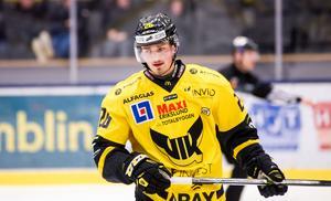 Hampus Larsson gjorde sin, individuellt, bästa säsong i karriären 16/17. Nu kan han vara på gång till Leksand.