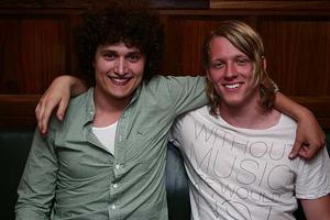 Pitchers. Martin och Daniel
