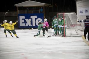 Ljusdal gjorde två av de tre målen på hörna.