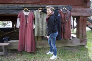 Cecilia Götesdotter Axelsson älskar Ronja och hennes kompanjoner. En av favoritkostymerna har blivit Mattis.