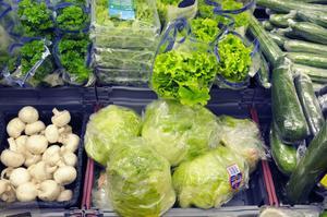 Priserna på grönsaker skenar.