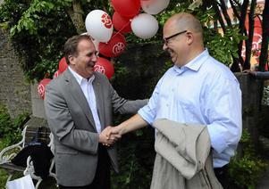 Programskrivare. Både partiordföranden Stefan Löfven och LO:s ordförande Karl-Petter Thorwaldsson ingår i Socialdemokraternas programkommission.