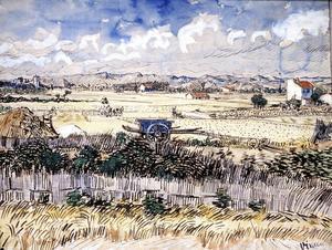 En målning av den nederländske konstnären Vincent van Gogh. Nu blir hans liv film.