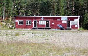 Omklädningsrum på Norr-Hede IP.