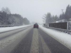 e 18. Miljlöpartiet anser inte att en utbyggd motorväg är en väg att gå för att uppnå klimatmålen.Foto: Mons Brunius/Scanpix