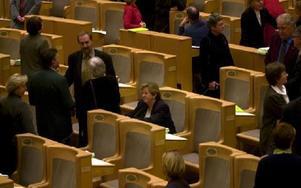 I riksdagens plenisal. Foto: Leif R Jansson/TT