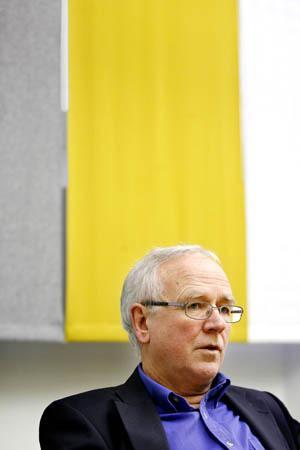 Åke Ljusberg, ordförande i Sparbanksstiftelsen i Jämtland.