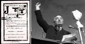 1938 begärde Sveriges regering, under ledning av statsminister Per-Albin Hansson (S), att Tyskland skulle stämpla bokstaven J i tyska judars pass.