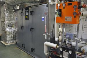 Det var ett trasigt kretskort i fläktsystemet som gjorde att det blev problem med ventilationen i gymmet, omklädningsrummet och duschrummet.