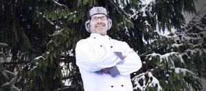Förväntansfull. Håkan Bjernhagen ser fram emot att servera sitt lokalproducerade knäckebröd från Sörgården Måla under årets Nobelfest.