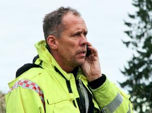 Dan Bergh, insatsledare vid räddningstjänsten Söderhamn.