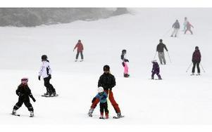 Skidskolan i romme Alpin har startat för barnen. Foto: Staffan Björklund