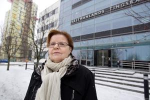 Fler hot. Helena Wahlund på Brottsofferjouren i Västerås upplever att det blivit vanligare att vittnen hotas.foto: kenneth hudd