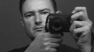Branko Madunic, här fotograferad av sig själv, med en