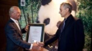Slit gav Claes Grundsten priset Årets Pandabok
