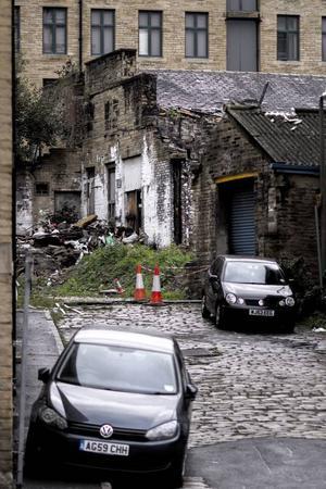 Staden Bradford hinner inte med i samhällets utveckling. Foto: Kaisa Berg