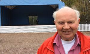 Roland Pettersson ordförande i Classic Car Week ser framemot den nya scenen i Rättviksparken.